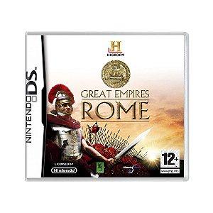 Jogo History Great Empires Rome - DS (Europeu)