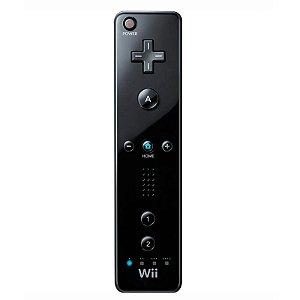 Controle Wii Remote Preto - Wii