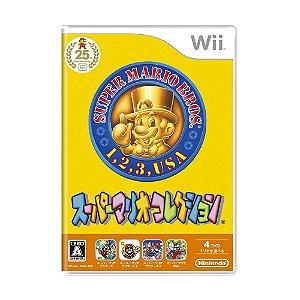 Jogo Super Mario All Stars - Wii (Japonês)