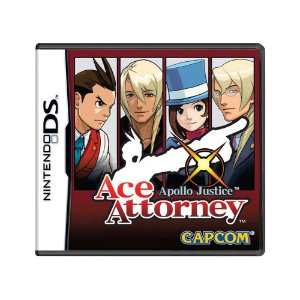 Jogo Apollo Justice: Ace Attorney - DS
