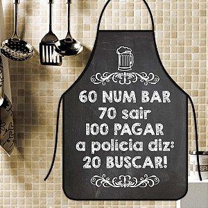 Avental Personalizado Com Estampa Cômica 60 Num Bar