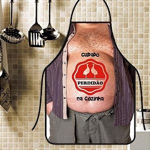 Avental Personalizado Com Estampa Cômica Perdidão