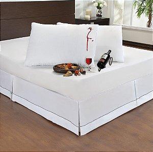 Kit 10 Capas Protetora Impermeável Com Zíper Para Travesseiro 50cm x 70cm