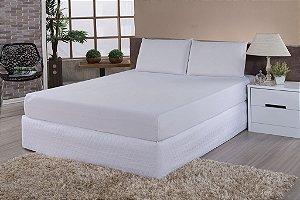 Protetor De Colchão 100% PVC Impermeável Queen Size Para Colchão De 1,98m x 1,58m x até 40cm de altura