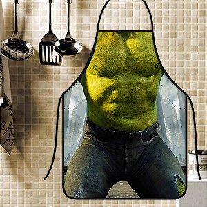 Avental Personalizado Com Estampa Cômica O Incrível Hulk