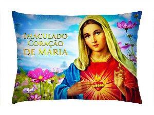Almofada Retangular 35cm x 26cm + Capa Com Estampa De Santo Ref.: T153