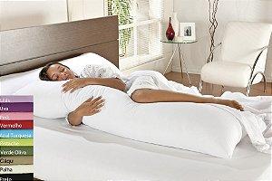 Fronha com Zíper para Travesseiro De Corpo Mega Xuxão