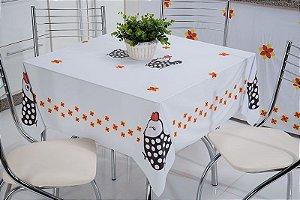 Toalha De Mesa Estampada 100% PVC Tutti Casa