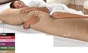 Fronha Para Travesseiro De Corpo Microfibra Mega