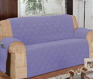 Protetor Para Sofá De 03 Lugares Com Assento De 1,50m Matelado Microfibra Lú