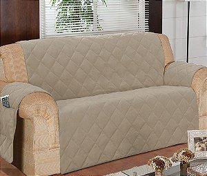 Protetor Para Sofá De 03 Lugares Com Assento De 1,70m Matelado Microfibra Lú