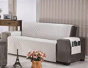 Protetor Para Sofá De 04 Lugares Com Assento De 2,00m Matelado Microfibra Lú