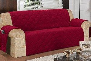 Protetor Para Sofá De 04 Lugares Com Assento De 2,10m Matelado Microfibra Lú