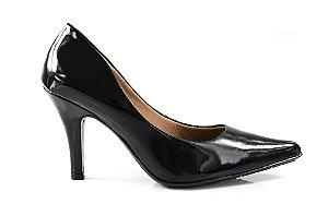 Sapato Scarpin Uniflora preto