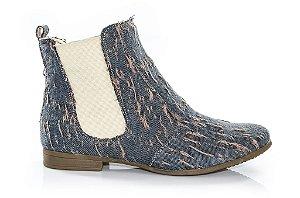 Bota Chelsea Clívia Jeans