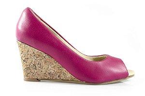 Sapato Peeptoe Winitii Pink