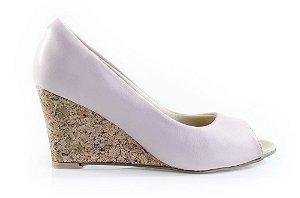 Sapato Peeptoe Winitii Rosê