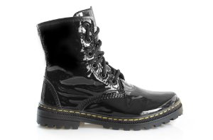 Boot Asplênio Preto - The Original Vegan