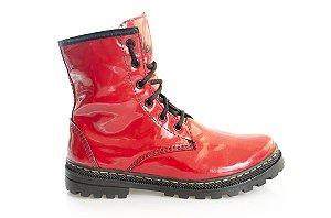 Boot Asplênio vermelho - The Original Vegan