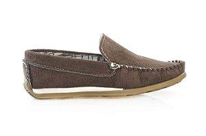 Sapato Mocassim Baru Marrom