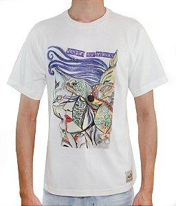 Camiseta vegan for animals - Algodão orgânico