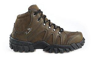 Boot Jatobá cano alto Brown