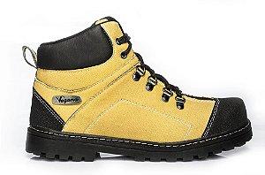 Bota Plateossauro Eco-premium Amarelo/preto