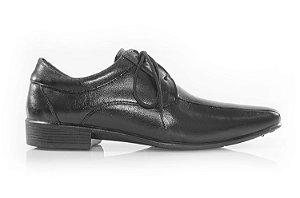 Sapato com cadarço Gerânio preto