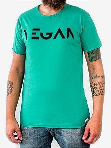 Camiseta Vegan verde 1010