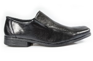 Sapato conforto Vegano Preto (tamanho especial)