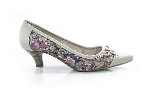 Sapato Scarpin Clarkia Floral