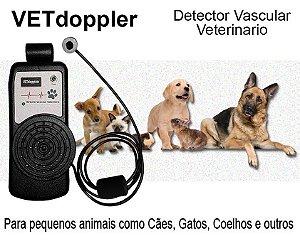 Doppler Vascular Veterinário VETdoppler