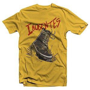 "Inocentes ""Botina"" Camiseta Amarela"