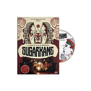 """Sugar Kane """"15 Anos Ao Vivo em Fortaleza"""" DVD Digipack"""