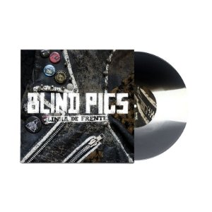 "Blind Pigs ""Linha de Frente"" Vinil 10"" Preto/Branco/Prata"