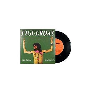 """Figueroas & Orquesta El Macabeo """"Sus Éxitos En Español/ Armonía"""" 7"""" Vinil Preto"""
