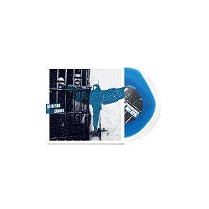 """Dead Fish & Zander Split Vinil 7"""" Azul e Transparente"""