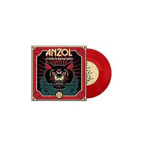 """Anzol """"O Preço do Mefisto"""" Vinil 7"""" Vermelho"""