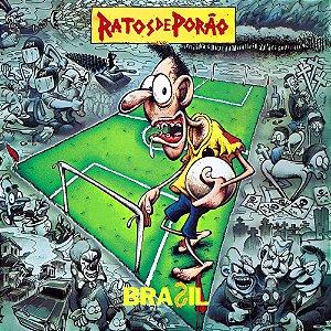 """Ratos de Porão """"Brasil"""" CD Digipack"""