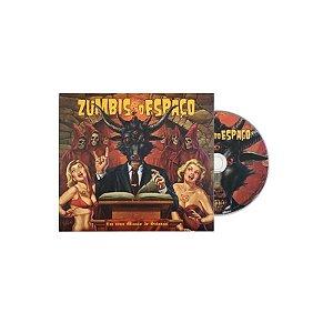 """Zumbis do Espaço """"Em Uma Missão De Satanás"""" CD Digipack"""