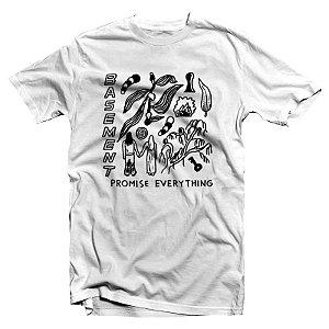 "Basement ""Promise Everything"" Camiseta Branca"