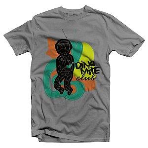 "Dinamite Club ""Capa EP"" Camiseta Cinza Mescla"