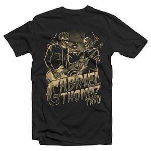 "Gabriel Thomaz Trio ""GT3"" Camiseta Preta"