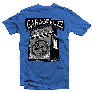 """Garage Fuzz """"Amplificador"""" Camiseta Azul"""