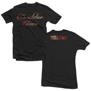 "Institution ""Desolation Times"" Camiseta Preta"
