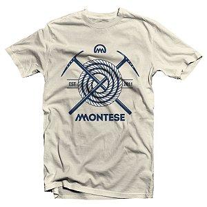"""Montese """"Quando Me Encaro De Frente"""" Camiseta Creme"""