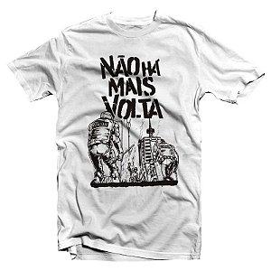 """Não Há Mais Volta """"Álbum"""" Camiseta Branca"""