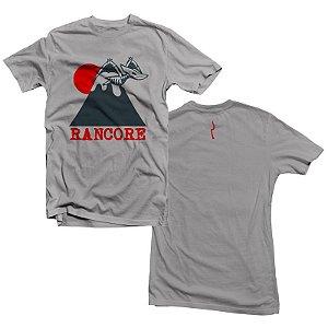 """Rancore """"Dinossauro"""" Camiseta Cinza Mescla"""