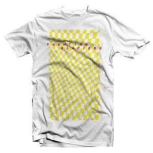 "Taunting Glaciers ""Bloom"" Camiseta Branca"