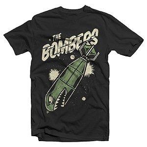"""The Bombers """"Bomb"""" Camiseta Preta"""